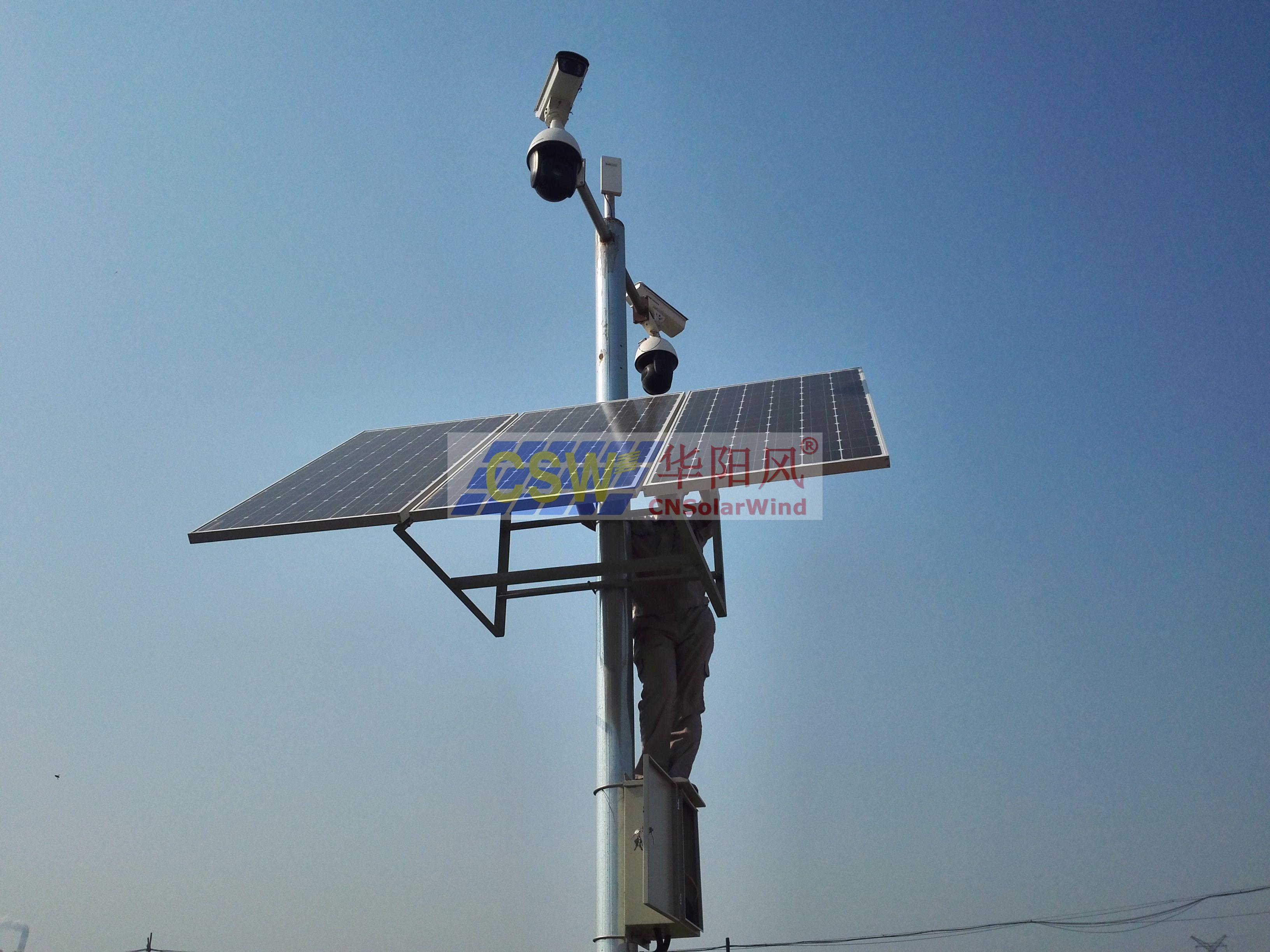 無線網橋太陽能供電