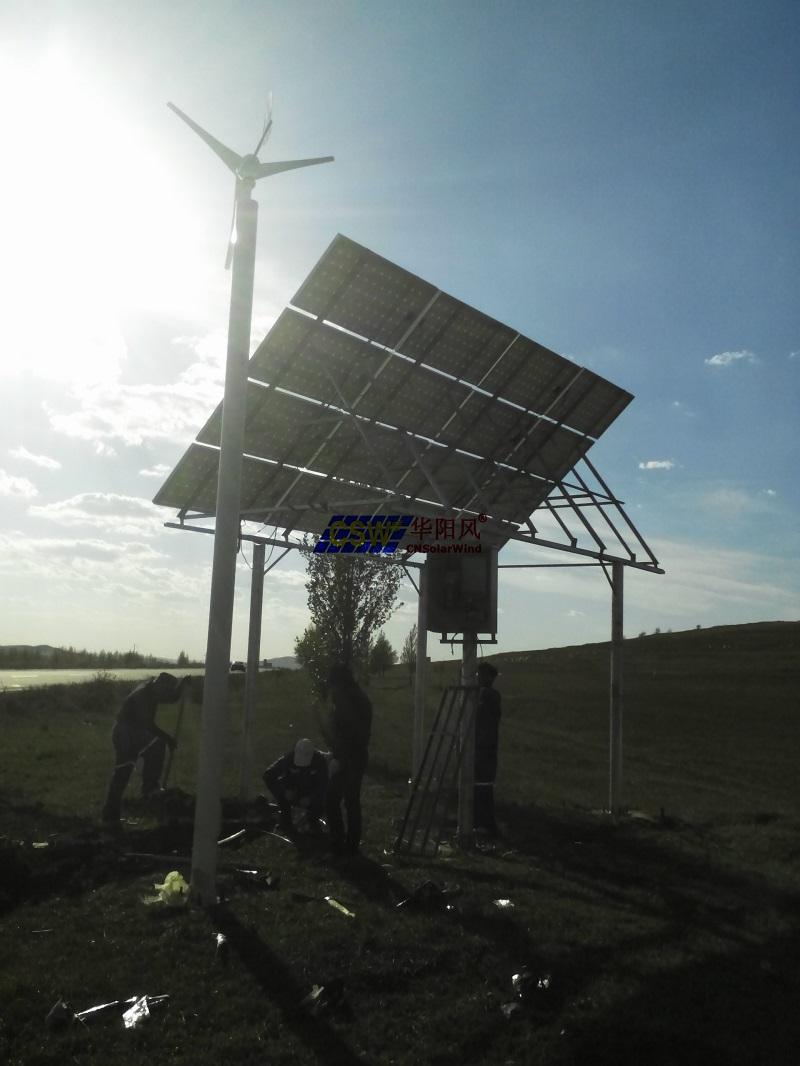 風光互補供電系統設計