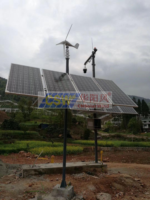 監測風光互補供電,太陽能供電