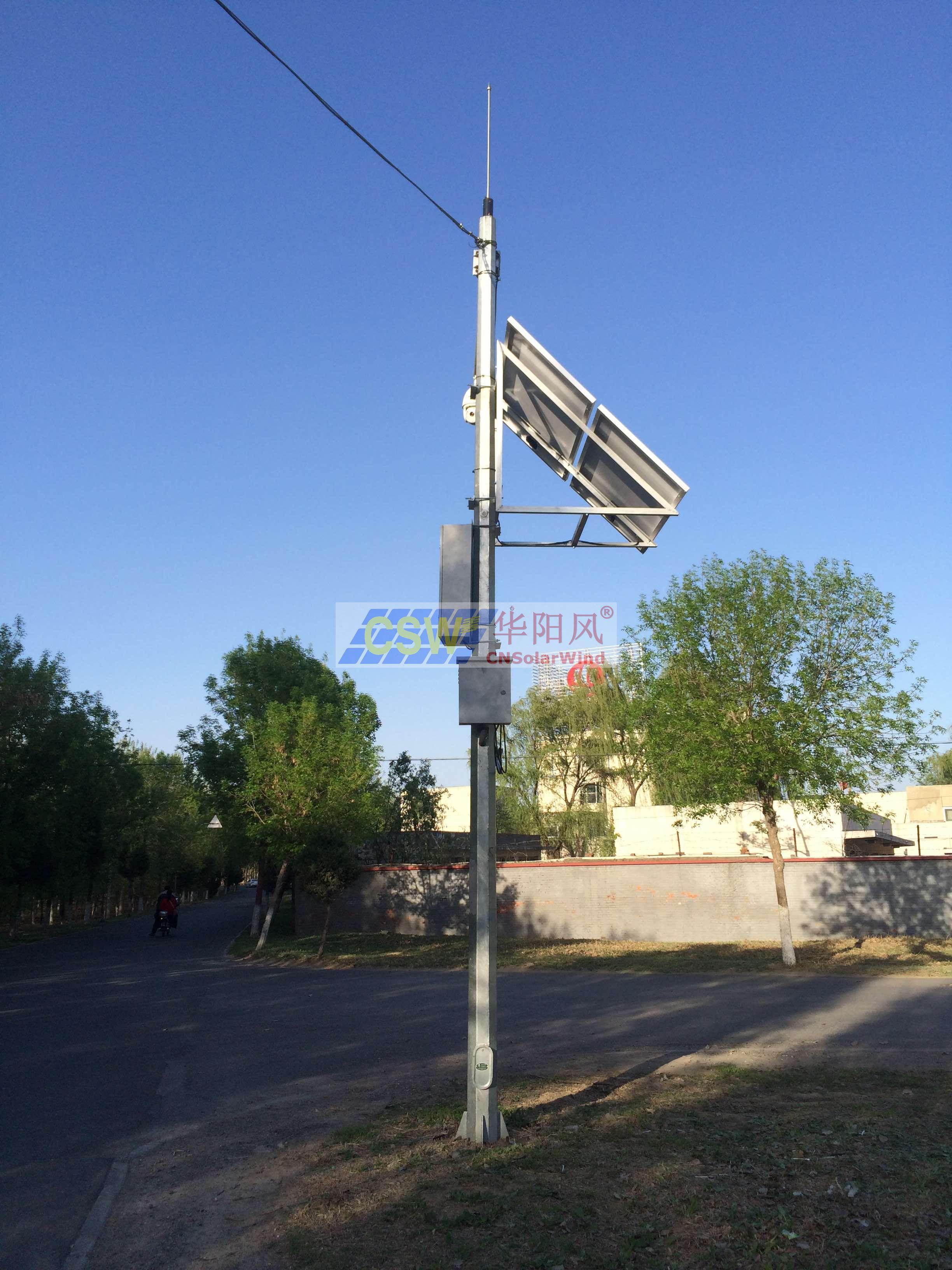 監控太陽能發電系統