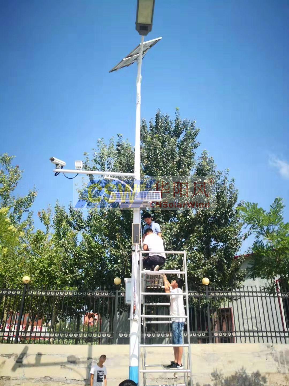 太陽能路燈廣播