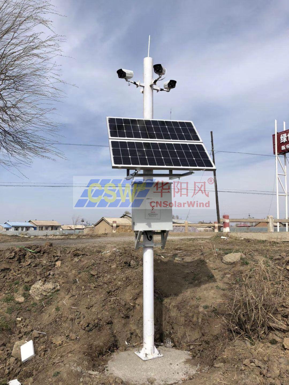 農業監控太陽能供電