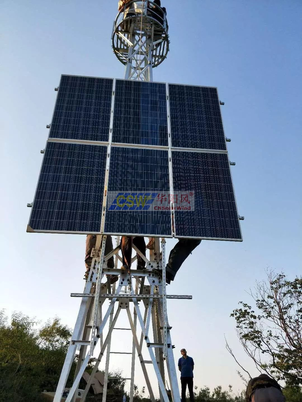 森林防火太陽能