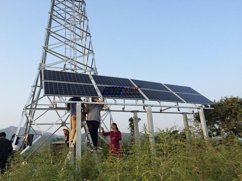 云南森林防火监控太阳能