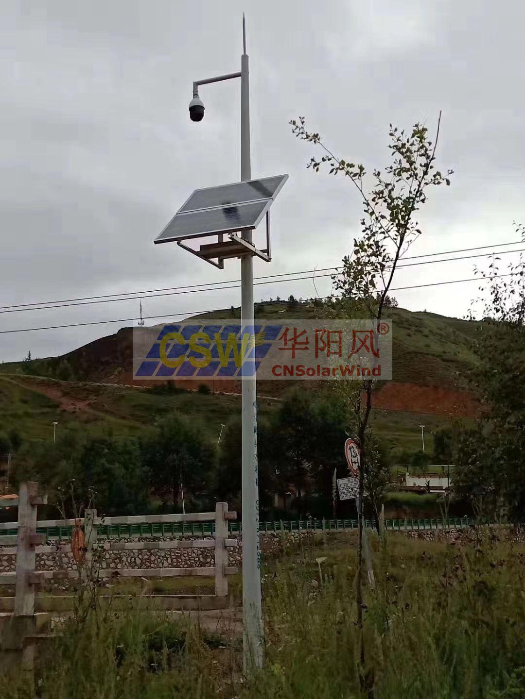 太陽能監控攝像機