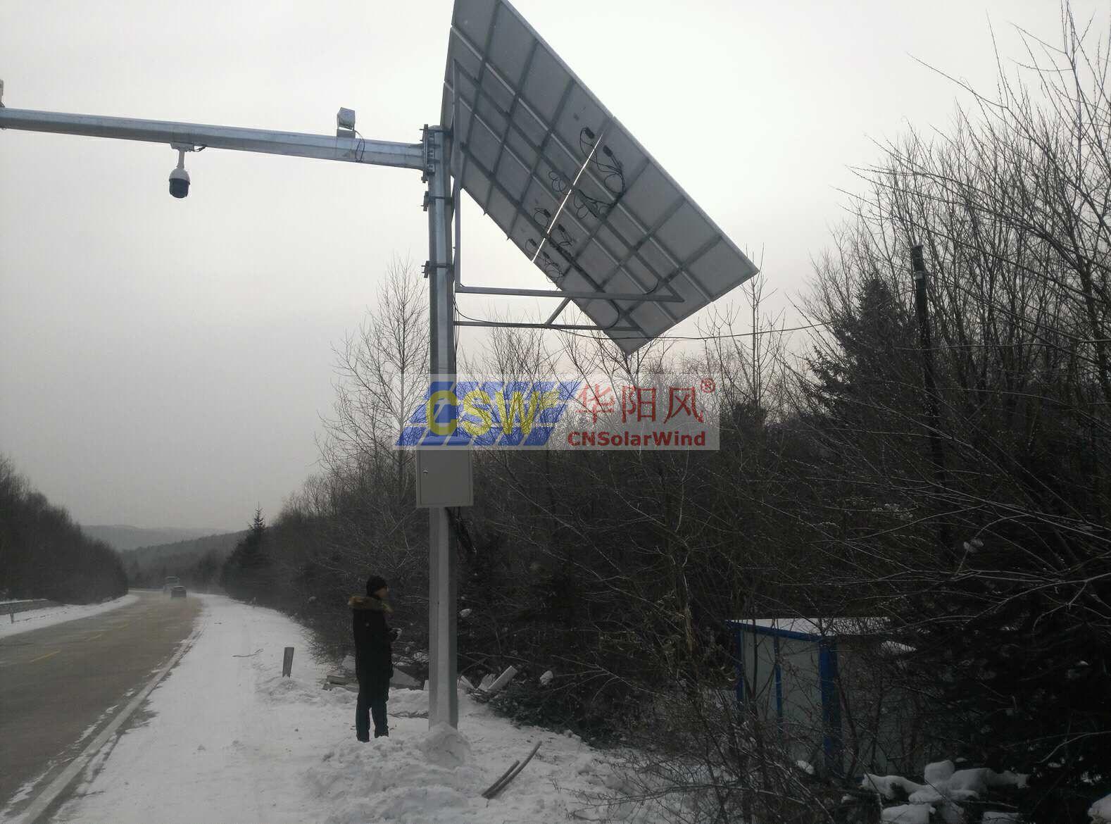卡口監控太陽能