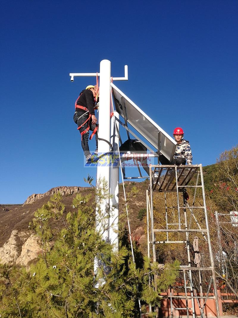 太陽能監控生產