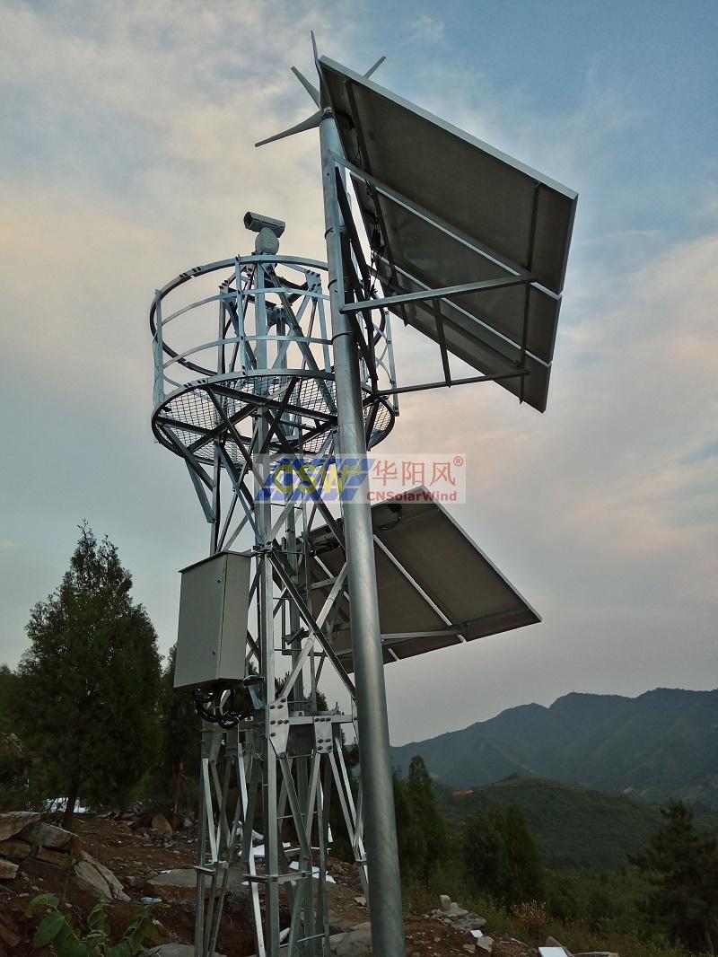 森林防火太陽能供電