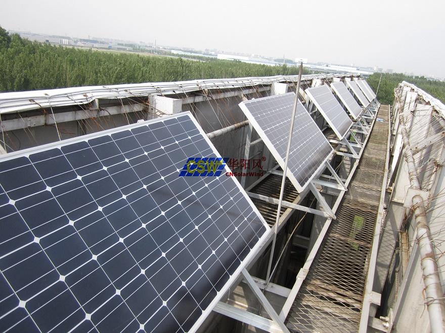 太阳能广告牌