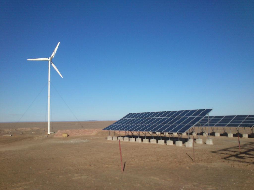 風光互補發電系統