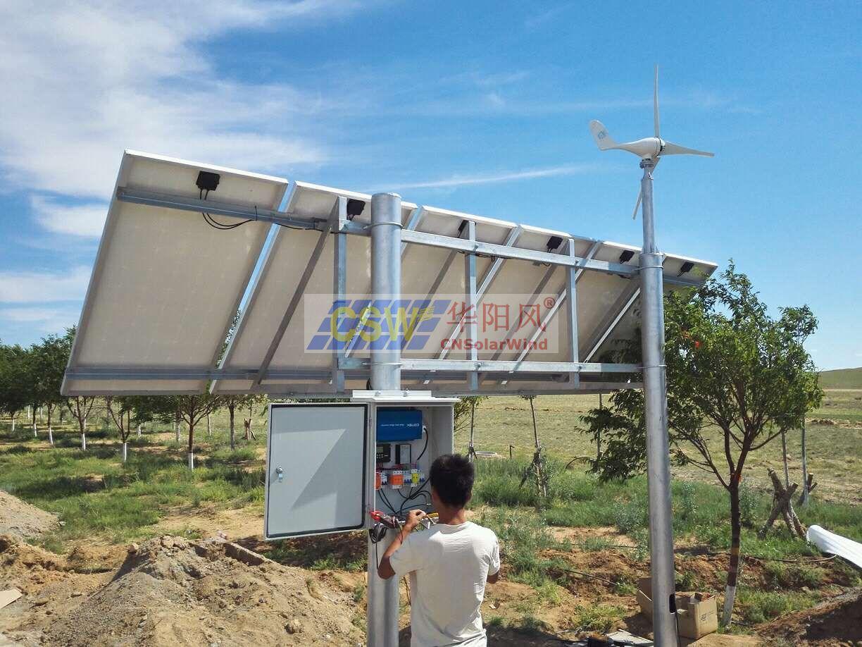 風光互補發電系統,道路卡口太陽能供電