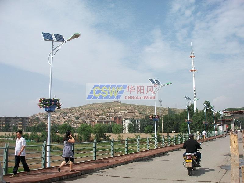 煤礦太陽能路燈